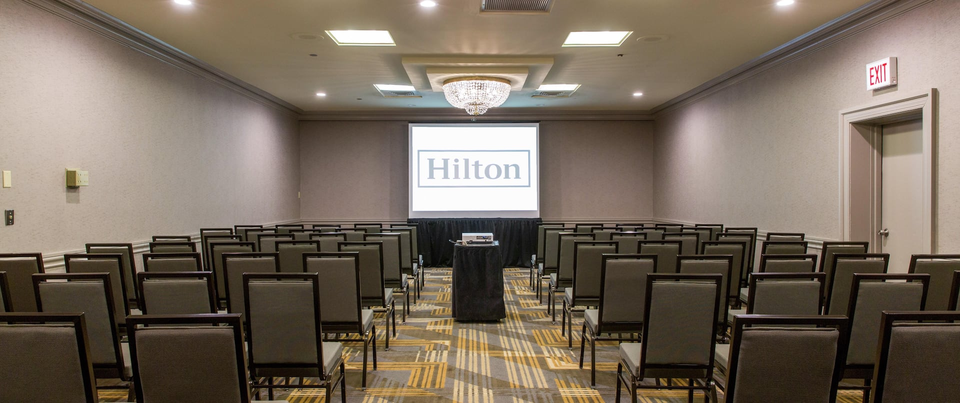 Lincoln Meeting Room Theater Style Set Up