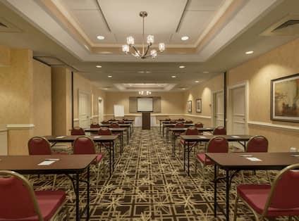 Meeting Facility with Classroom Setup