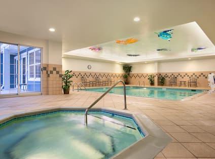 Indoor Whirlpool Spa