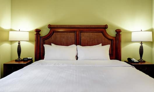 Single King Bed Guestroom