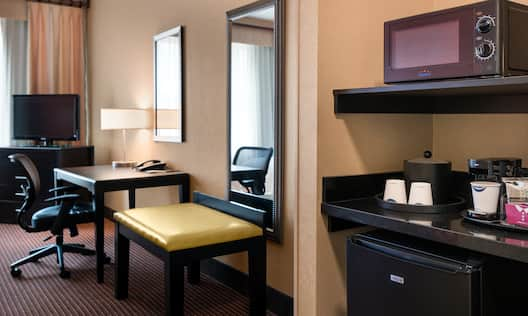 Guest Room Hospitality Station