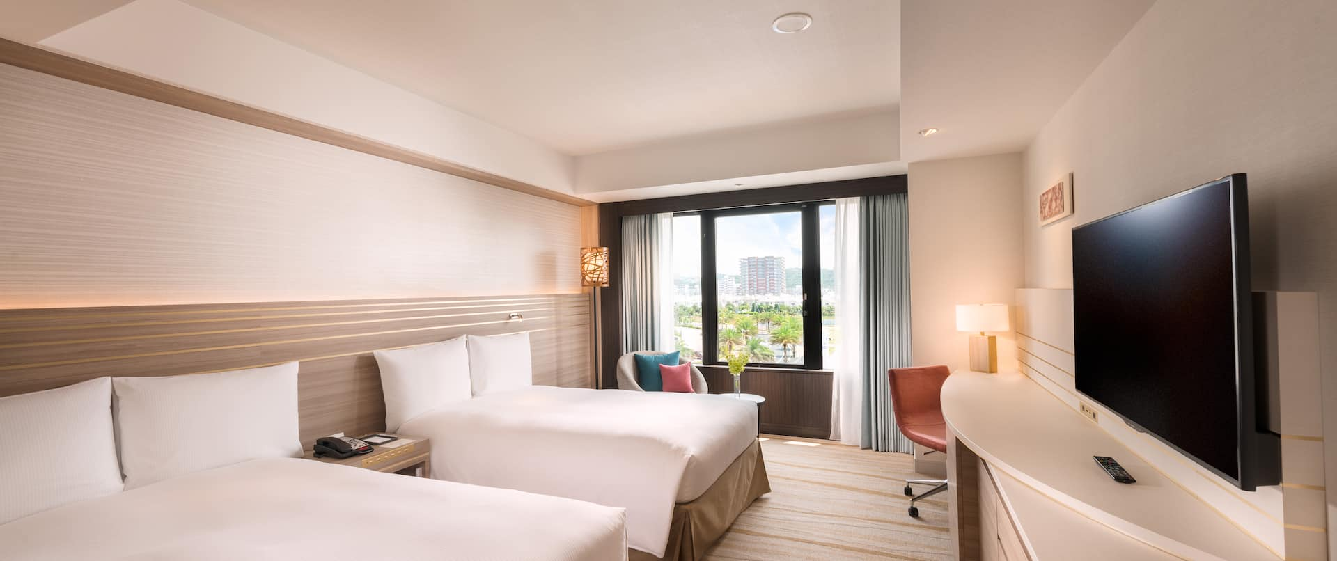 Twin Guest Room City View