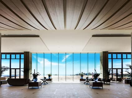 Lobby View by Day