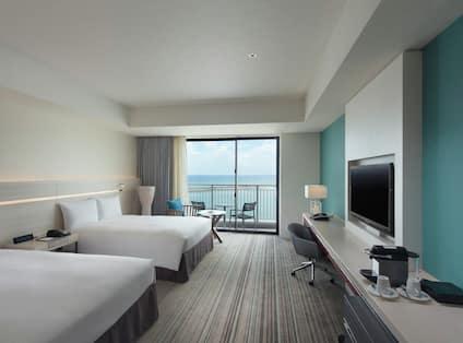 Twin Executive Room Ocean View Balcony