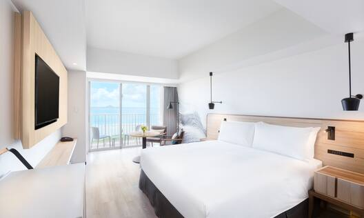 King Guest Room with Ocean View