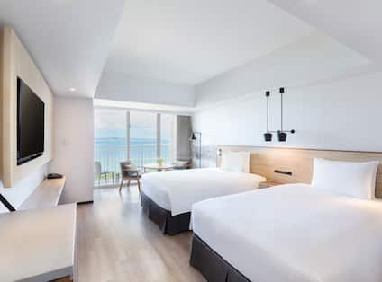 Twin Room with Ocean View