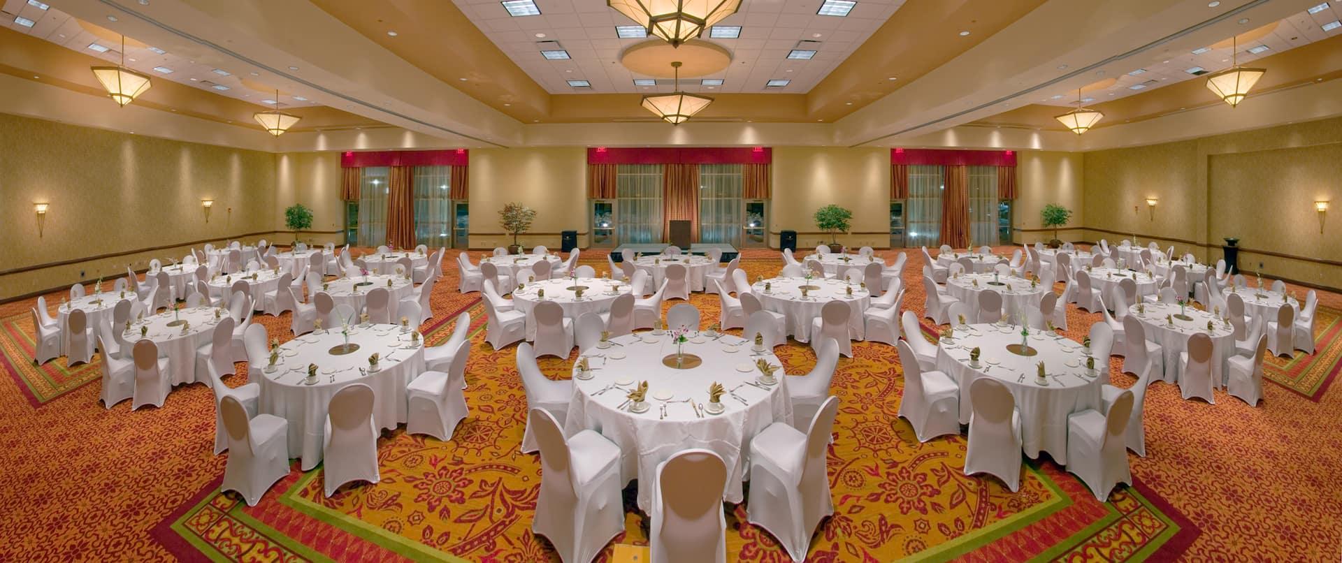 University Banquet Setup