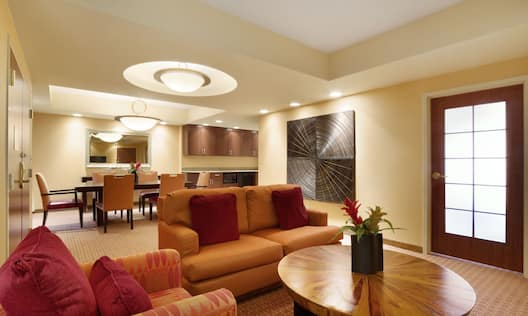 Hospitality Suite Living Area