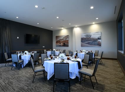 An ideal downtown location for banquets and events.