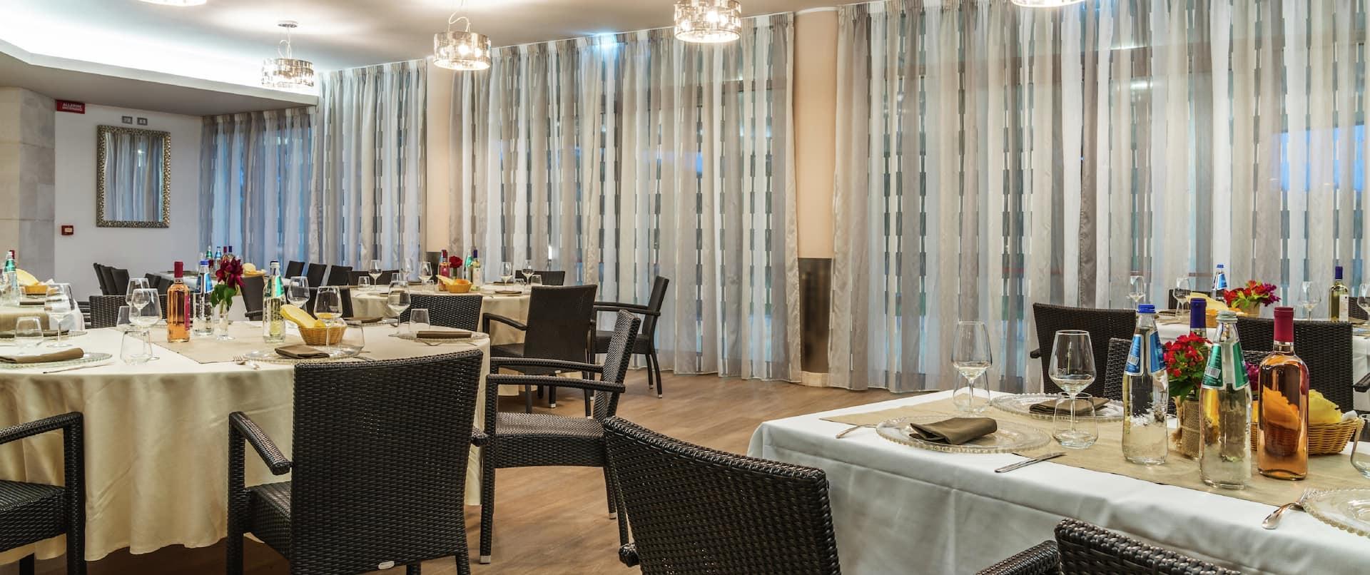 Tilibbas Restaurant Special Event Setup