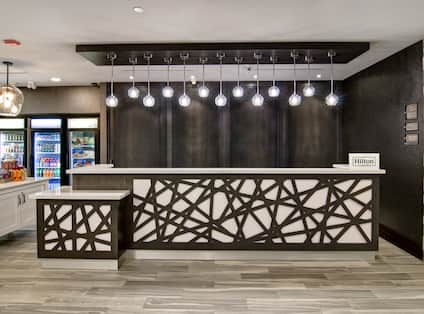 Front Desk and Snack Shop