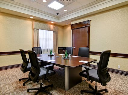 Boardroom Set Up for Meeting