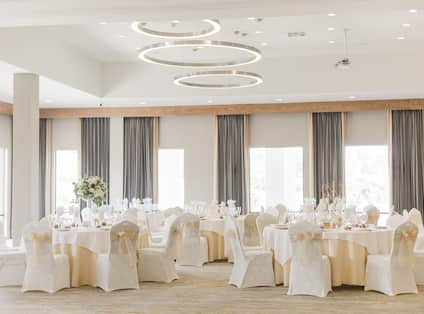 Event Space Banquet Setup