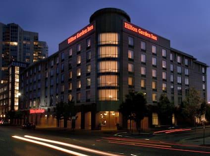 Hotel Exterior Night