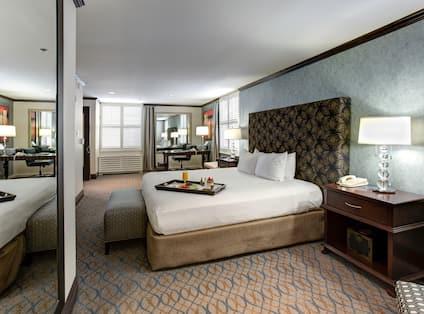 Chancellor Suite Bedroom