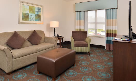 King Suite Living Room with Sofa