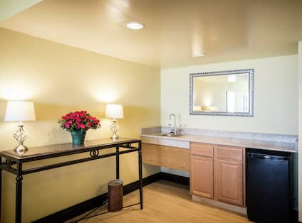 Board Room with Wet Bar