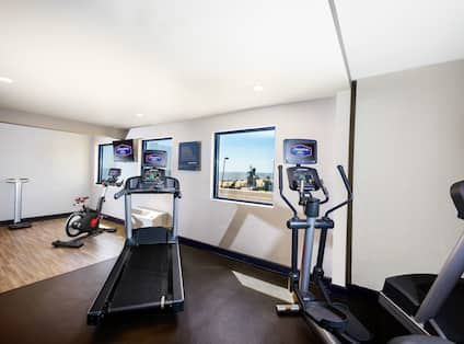 Fitness Center with Ocean Views of Virginia Beach