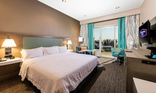 King Bedroom in First Floor Guest Room