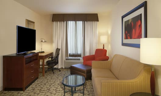 One Bedroom Suite Living Room