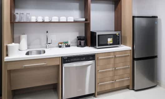 Accessible Hotel Guestroom Suite Kitchen Area