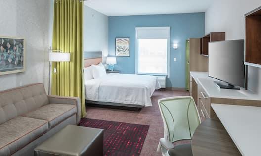 Hotel Guestroom Bedroom Suite