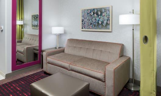 Hotel Guestroom Seating Area