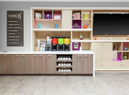 Lobby Coffee and Tea Station