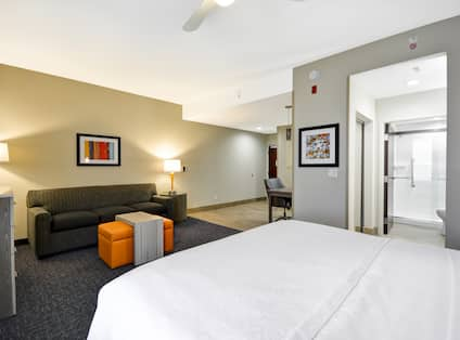 Homewood Suites by Hilton Orlando Theme Parks - King Studio with Sofa Bed