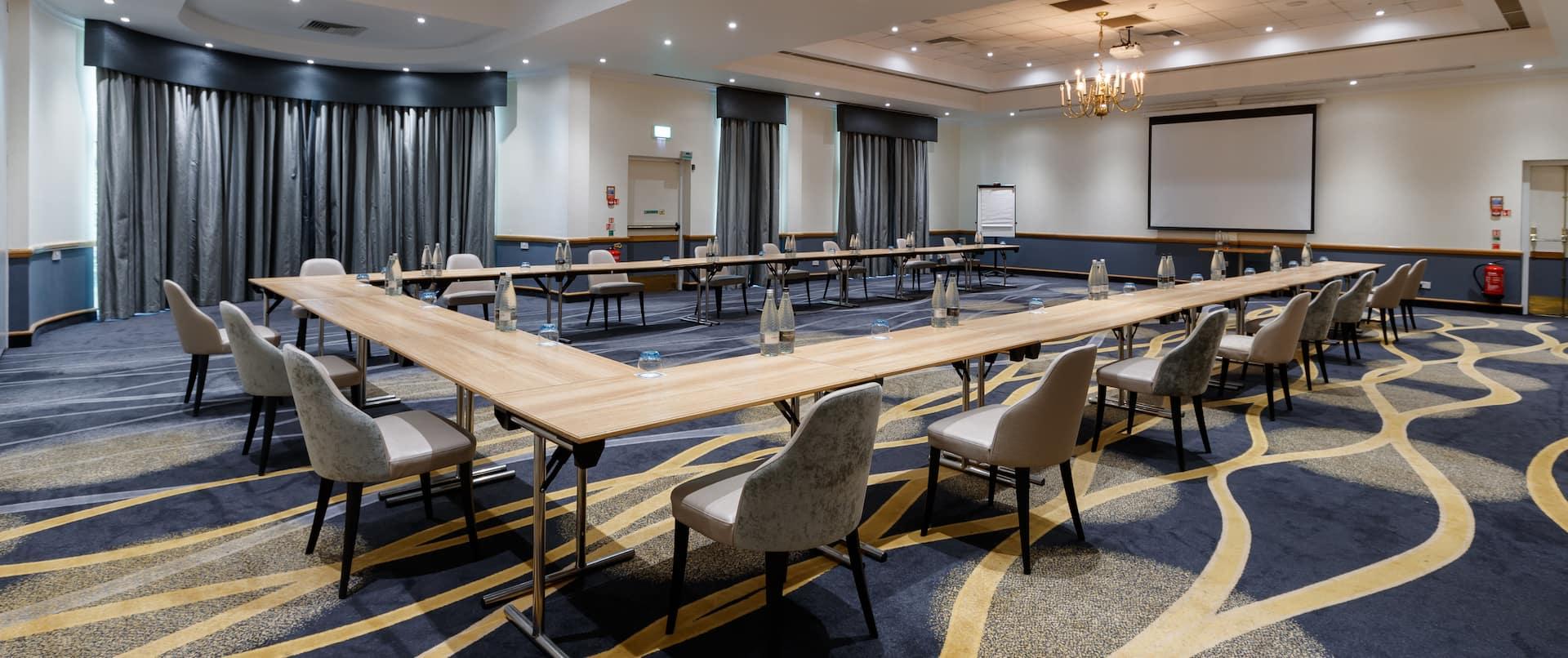 Collingtree Suite Meeting Room Setup U Style