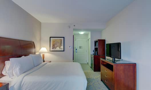 Room with Bed and TV
