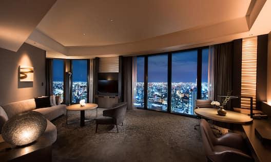 King Bed Executive Corner Suite