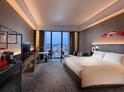 King Bed Deluxe Bedroom