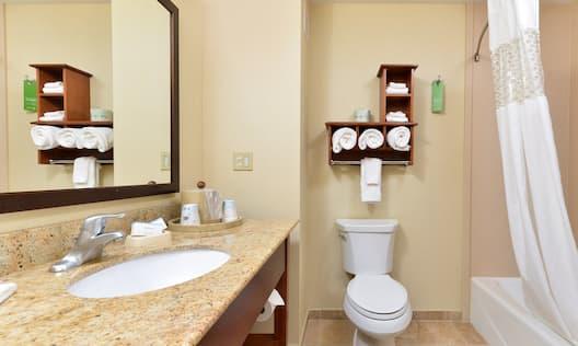 Bathroom and tub/shower
