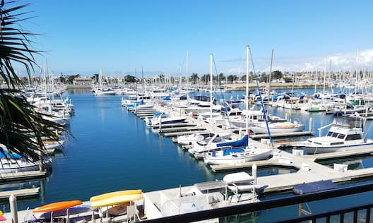 View of Marina from Guest Room Balcony