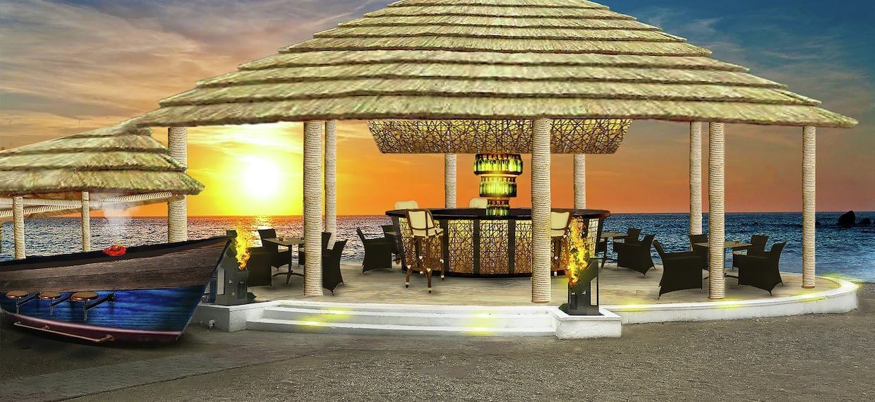 Hotel Beach Bar and Grill