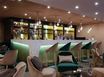 Bar with Counter and Lounge Seating