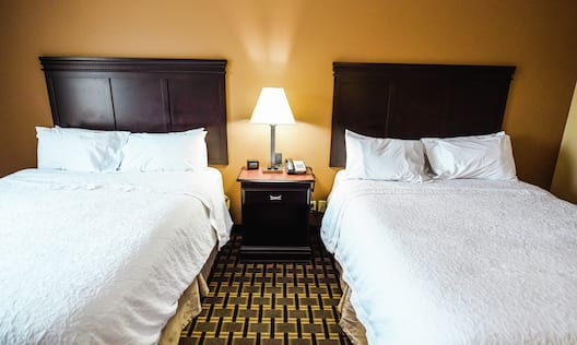Guest Room with Two Queen sized Beds