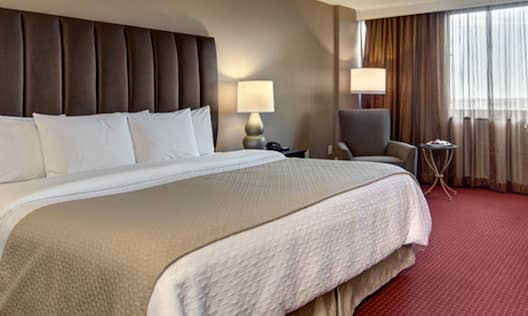 Single King Guestroom Bedroom