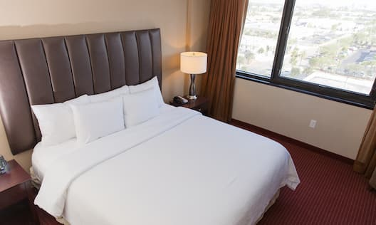 One King Two Room Guestroom Suite