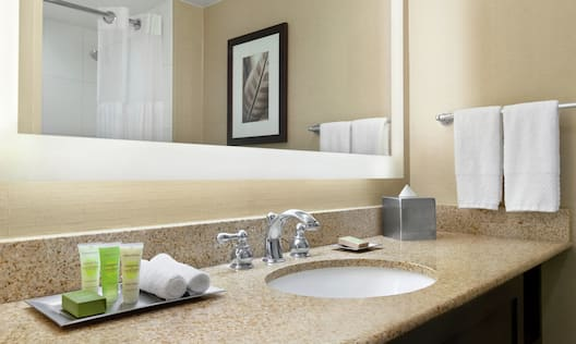 Guest Bathroom with Amenities