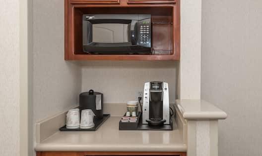 In-room coffeemaker