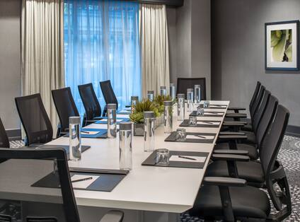 Park Boardroom Meeting Table and Office Chairs