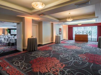 Colonel Lindbergh Ballroom Foyer