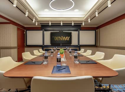 Duniway Meeting Room with Marblehead Conference Table