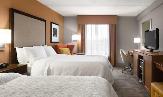 Queen Beds Guest Room
