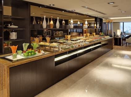 Executive Lounge Buffet Spread