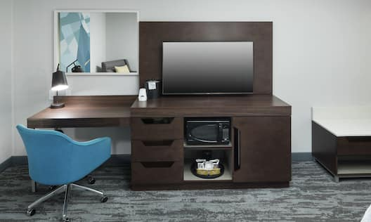 Work Desk and Television Stand