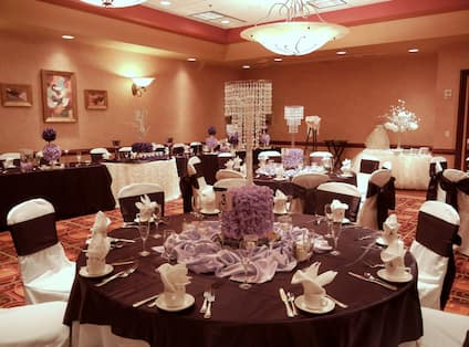 Tables in Mid Sized Reception