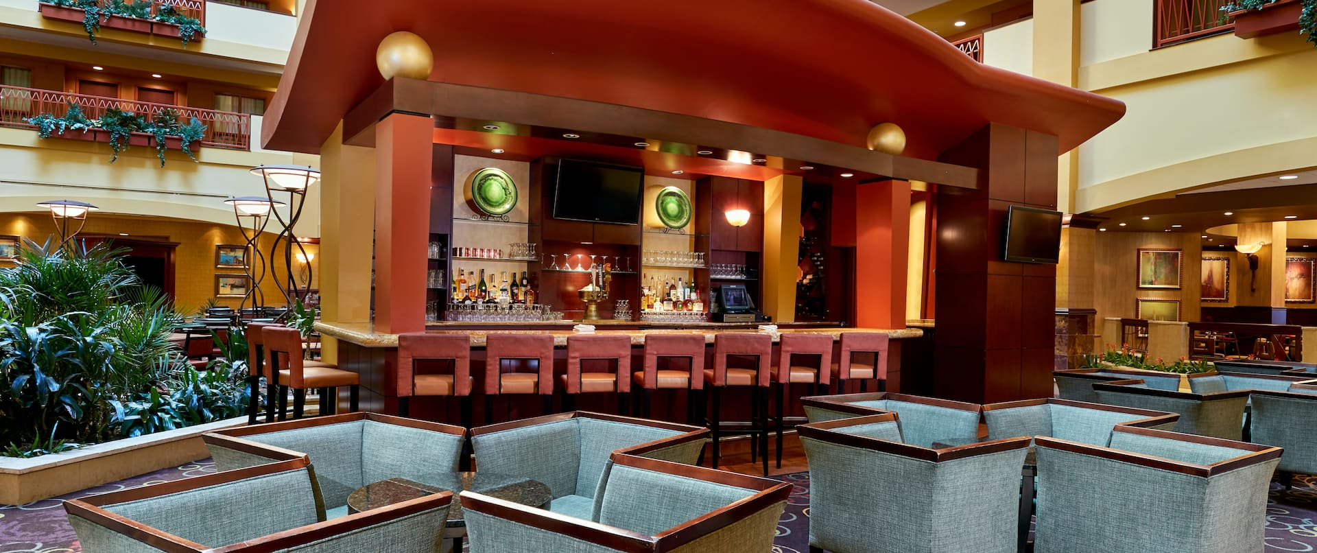 Cyprus Grille Bar and Lounge Area